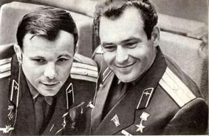 Y. Gagarin G. Titov
